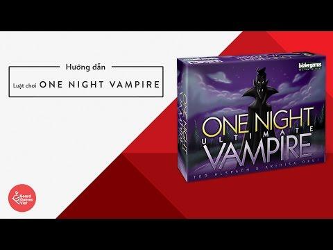 Board Game Việt - Hướng Dẫn Chơi Ma Sói One Night Vampire
