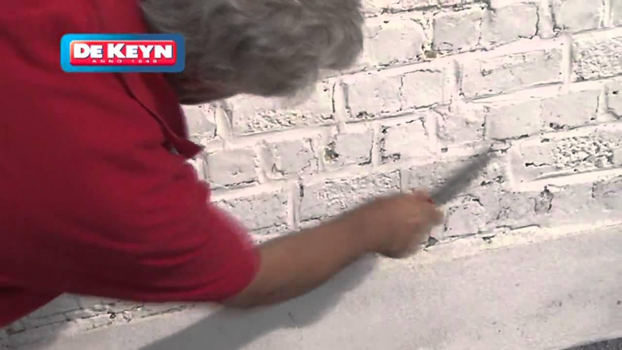 Stenen Muur Wit Verven : Fabriek Van Buitenmuren Verven