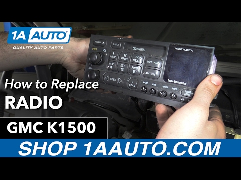 How to Replace Radio 88-98 GMC K1500