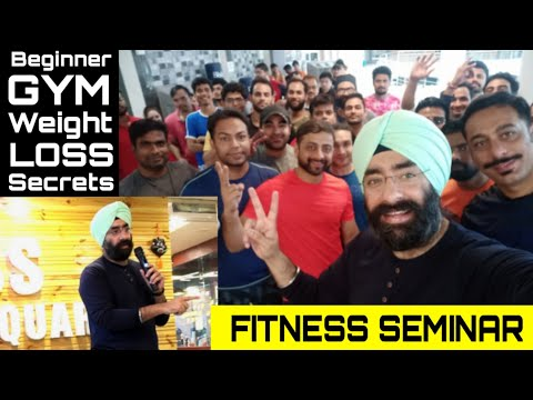 Complete Gym & Weight Loss Seminar - Preview | Dr.Education - Fitness & Nutrition