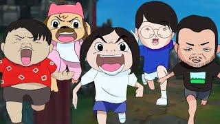 재난가족 애니메이션