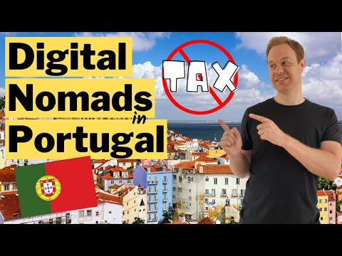 BEST Way to Save on Taxes for Digital Nomads in Portugal 🇵🇹