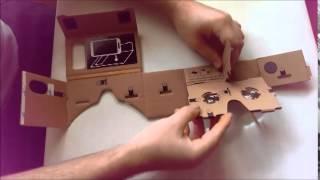 Google Cardboard Headset Construction