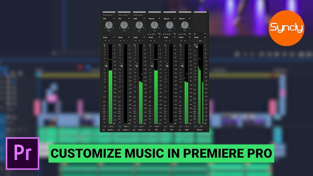 Find & Customize Royalty Free Music Right in Premiere Pro