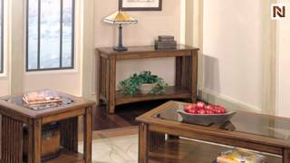 Mission Hills Cocktail Table With Casters 24481 By Standard Furniture