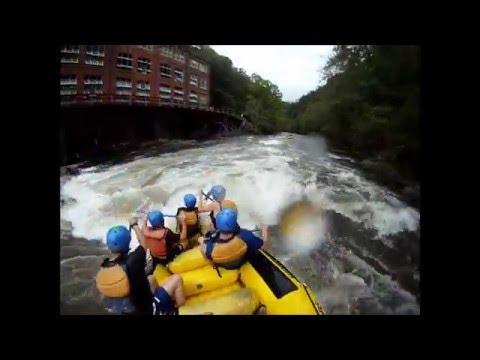Ocoee River Guide - Hell Hole And Powerhouse Raft Line