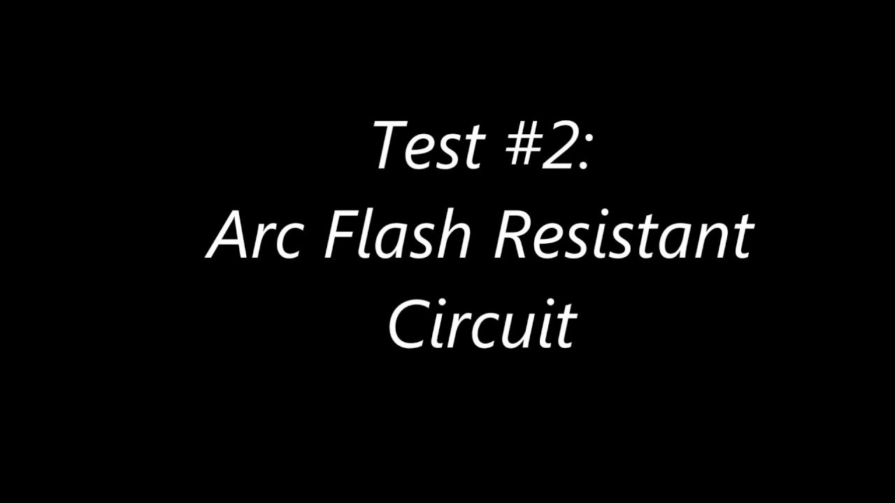 dea090f3e55c KEMA Arc Flash Test before and after VSGR circuit protection - YouTube