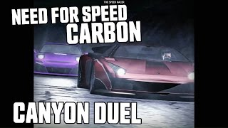 RX-7 vs Murcielago - Canyon Duel - Need for Speed Carbon