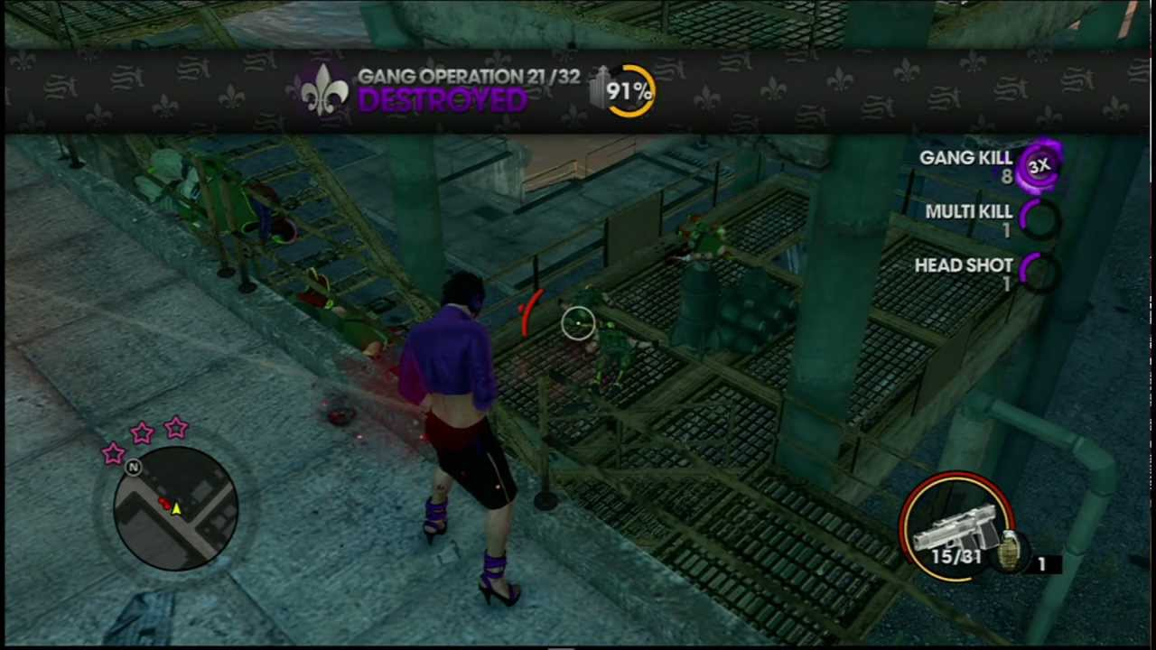 Saints Row The Third: Gang Operation Location 19 - YouTube