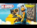 If you jump you lose... *NO JUMPING Deathrun*   (Fortnite Creative Mode)