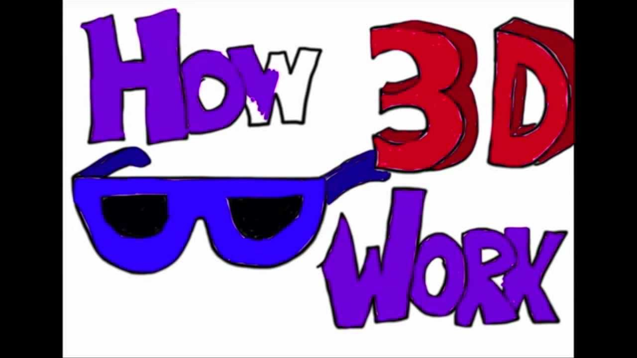 How 3D Glasses Work - YouTube How To Make 3d Glasses