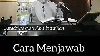 Cara menjawab titipan salam - Ustadz Fathan Abu Furaihan Mp3