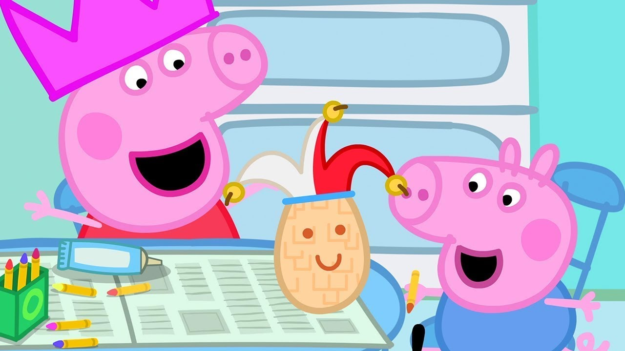 Peppa Pig Official Channel   Humpty Dumpty   Peppa Pig Surprise Eggs