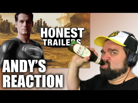 Andy Reacts To Honest Trailers | Justice League: The Snyder Cut
