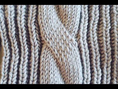 Вязание на спицах большая коса