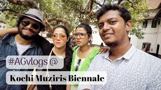 ABOUT OUR FORTKOCHI BIENNALE VISIT!
