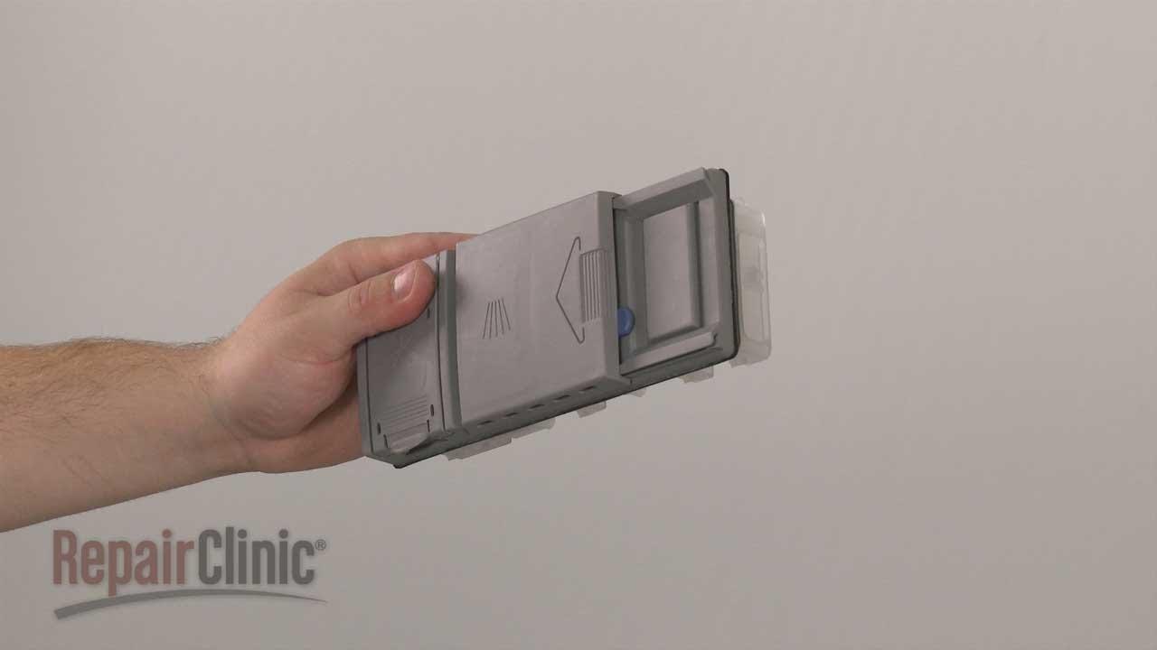 Bosch Dishwasher Replace Detergent Dispenser 490467 Youtube
