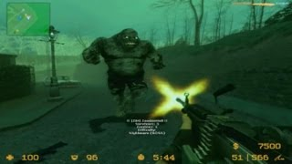 Counter Strike Source Zombie Boss Fight on Dead House