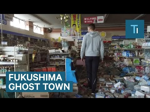 Eerie footage of Fukushima 6 years after the nuclear fallout