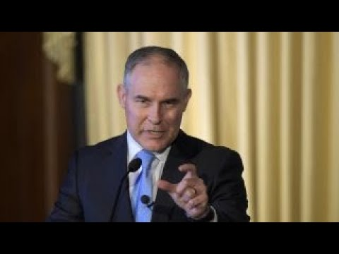 EPA Chief Pruitt: Obama administration 'abused' rulemaking process