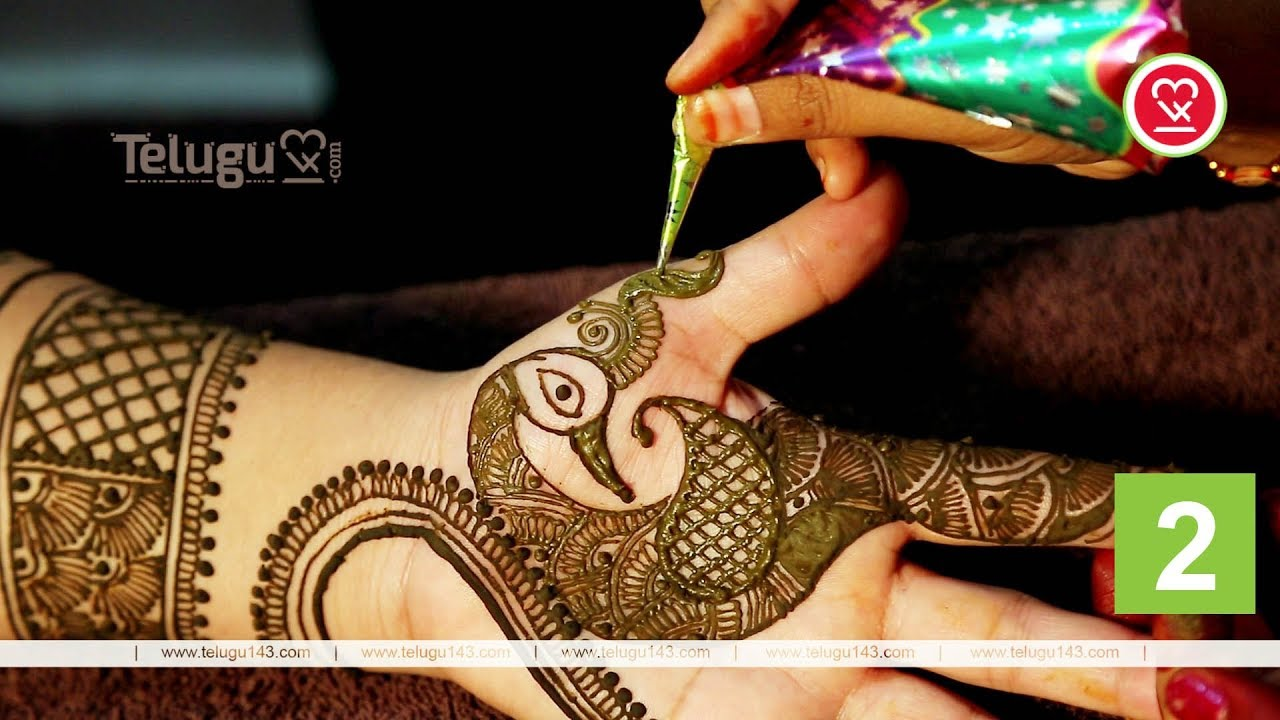 6083b44c08c43 Henna Designs For Hands | Simple Peacock & Heart | Latest Mehndi Designs  2018 | Part 2