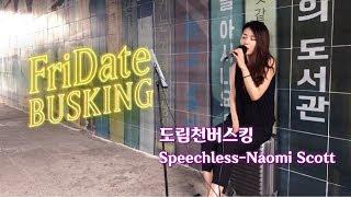 [Busking] Speechless - Naomi Scott(도림천)