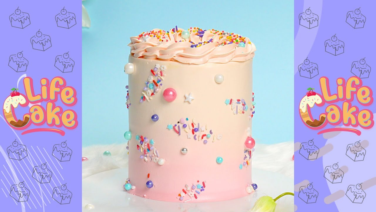 How to Decorate a Pretty Cake