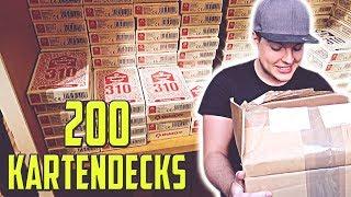 Warum mir 200 Kartendecks GESCHENKT wurden (Copag 310 Cartamundi) | MrTriXXL Vlog #47
