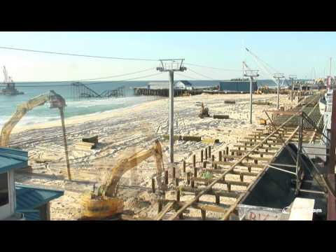 Official Seaside Heights Boardwalk Construction Time-Lapse