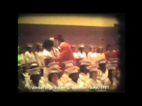 Jordan Vocational High School Graduation 1981