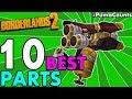Top 10 Best Gun and Weapon Parts in Borderlands 2 All Gun/Weapon Types + Prefix #PumaCounts