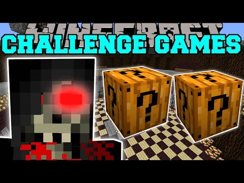 Minecraft: GRIM REAPER CHALLENGE GAMES - Lucky Block Mod - Modded Mini-Game