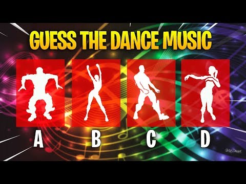 Guess The Fortnite Dance Music (Fortnite Challenge!)