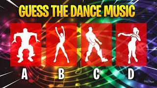 Guess The Fortnite Dance Music #3 (Fortnite Challenge!)