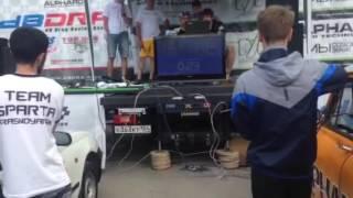 Автозвук Томск 2016 18 июня Финал Super Street 5+. DB DRAG Racing Росиия