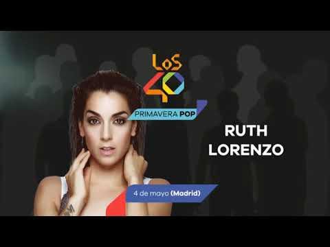 ¡Ruth Lorenzo confirmada en LOS40 Primavera Pop Madrid!