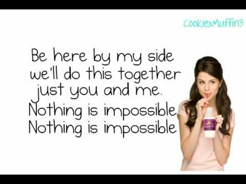 Selena Gomez   Like Theres No Tomorrow FULL Song Studio Version HQ lyrics