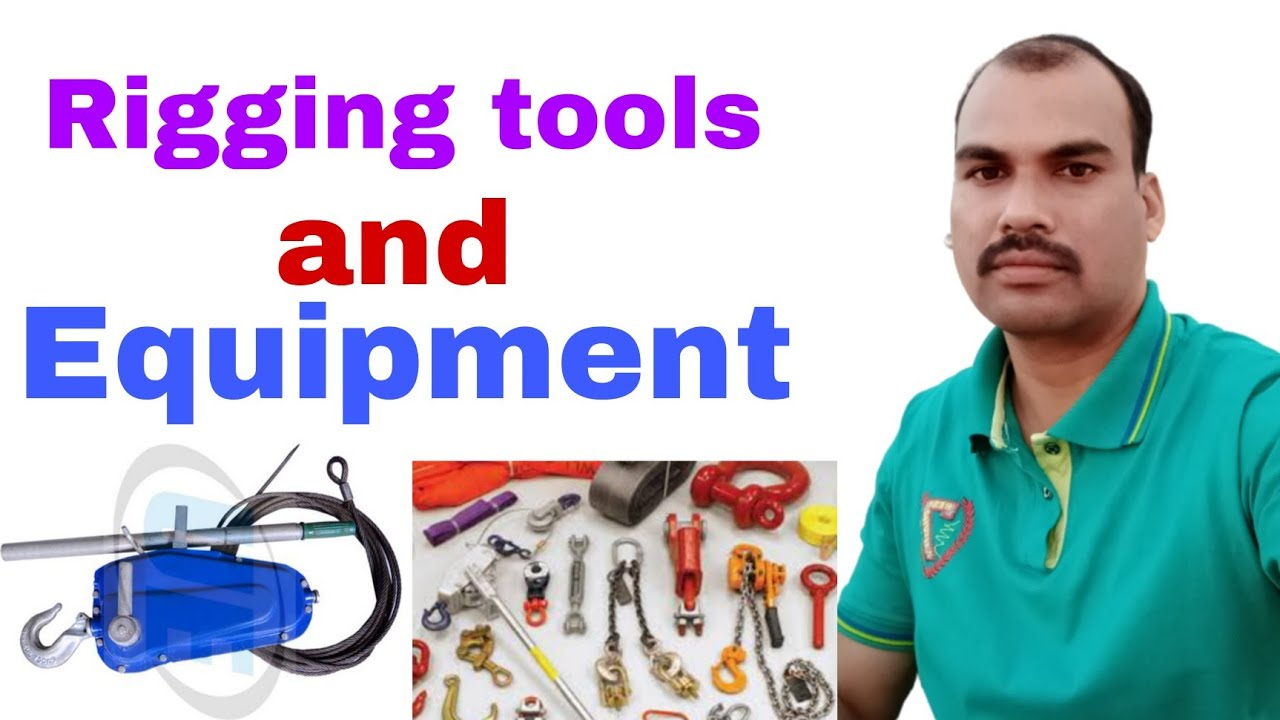 Download Rigging tools and rigging equipment name