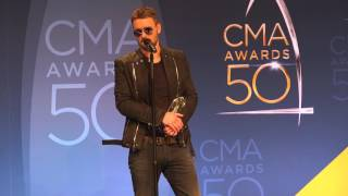 "Eric Church on the Relevance of Performing ""Kill a Word"" on CMA Awards 50"