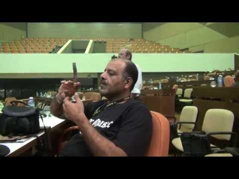 The perfect puff and the longest ash Contest 17th Habanos cigar Festival 2015