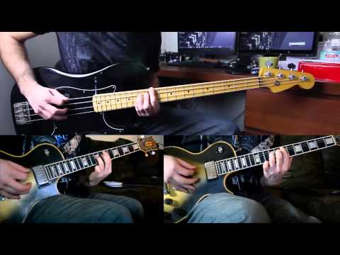 A Perfect Circle - The Outsider - Bass and Guitar Collab Cover (Remizik & Opiateofthemasses)