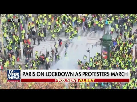 Farage on Paris Riots, 'Disconnected' Macron: 'Goodness Knows Where This Ends'