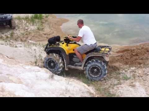 Honda Rubicon - Worst Stuck Ever - Beginning