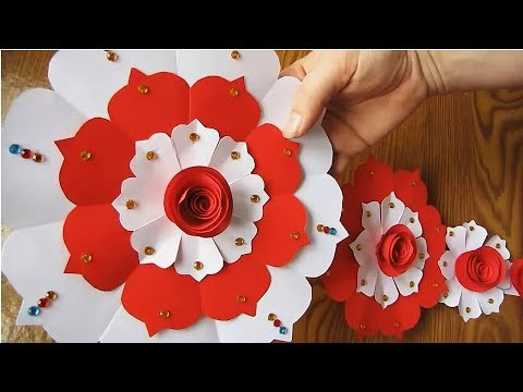 Diy Paper Craft Paper Design For Special Occasion Color Paper