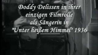 """Bild und Stimme (III) - Doddy Delissen - einzigste Filmrolle """"Unter heißem Himmel"""""""