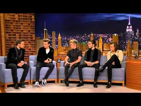 One Direction on Jimmy 23 /12 /2014 Full Interview NBC Special YouTube
