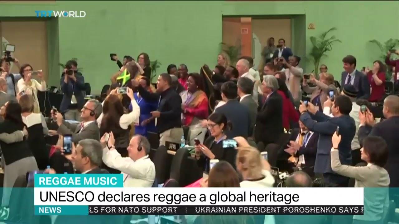 UNESCO declares reggae a global heritage - YouTube