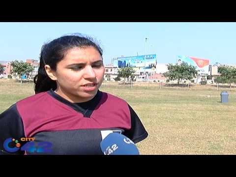 Pakistan women rugby training camp in Rugby academy