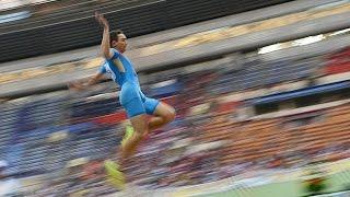 Александр Меньков прыжок в длину | Alexander Menkov long jump(Всем привет,вы на канале