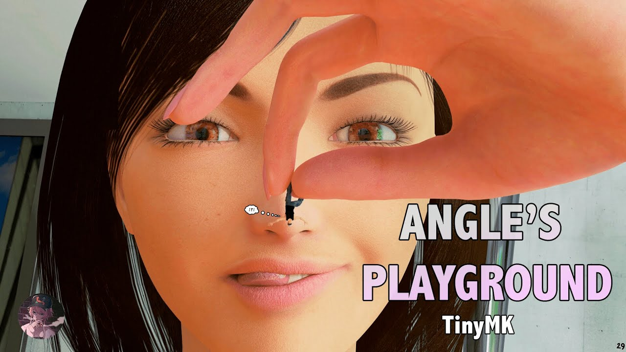 Download Angle's Playground - Giantess Comic   MrGiantess